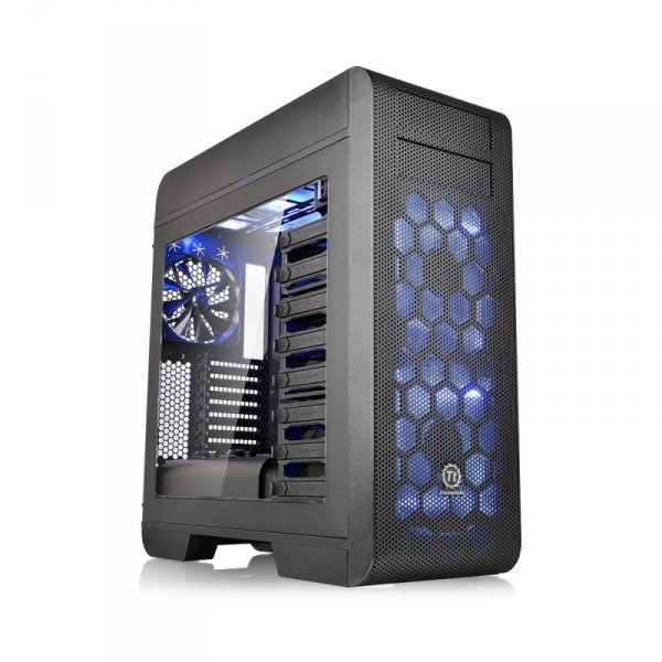 Thermaltake Core V71 Power Cover Edition, Tower czarny, Window-Kit