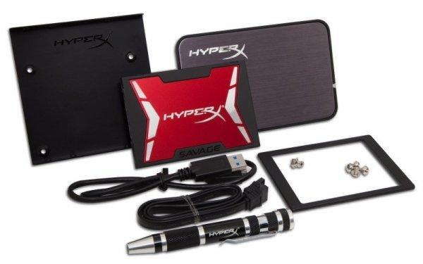 Kingston HyperX SHSS3B7A/240G - 240 GB SSD - SATA - Savage UPGRADE-KIT