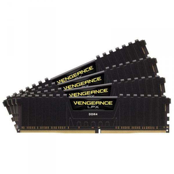 Corsair  64GB DDR4-3200 Quad-Kit, CMK64GX4M4B3200C16, Vengeance LPX