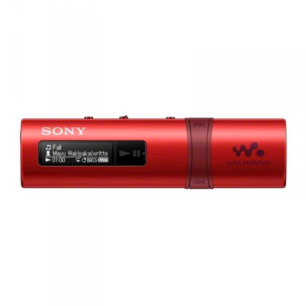 Sony Walkman NWZ-B183 czerwony - MP3-Player [4GB, USB-Stick]