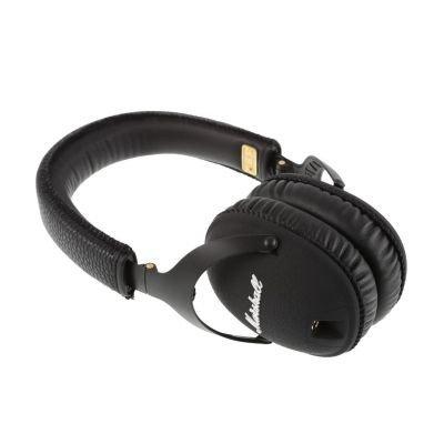 Marshall Monitor (czarny) - Słuchawki z mikrofonem