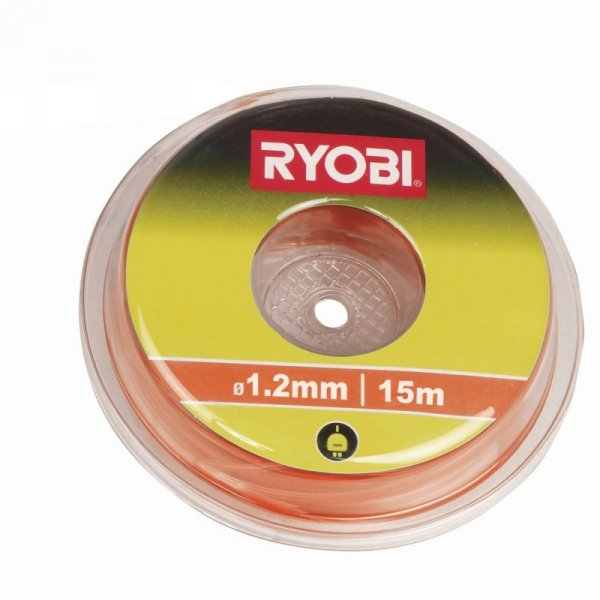 Ryobi Liania do cięcia do podkaszarek RAC100 orange - 15m ,1,2mm gwint