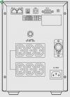 UPS LEGRAND NIKY S 1000VA/600W USB