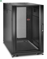 APC NetShelter SX 18U Server Rack Enclosure 600mm x 1070mm w/ Sides Black AR3106