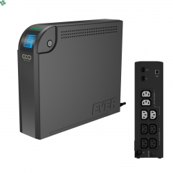 UPS EVER ECO 800VA/500W LCD