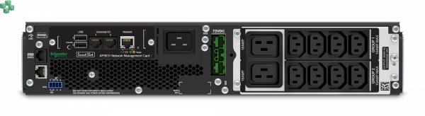 SRT2200RMXLI-NC Zasilacz awaryjny APC Smart-UPS SRT 2200VA RM 230V z kartą NMC