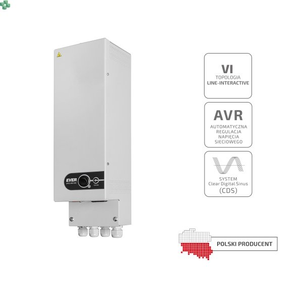 Zasilacz UPS EVER SPECLINE AVR 700 350VA/200W
