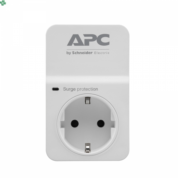 PM1W-GR Gniazdo/przejściówka przeciwprzepięciowa - APC Essential SurgeArrest 1 outlet 230V SCHUKO