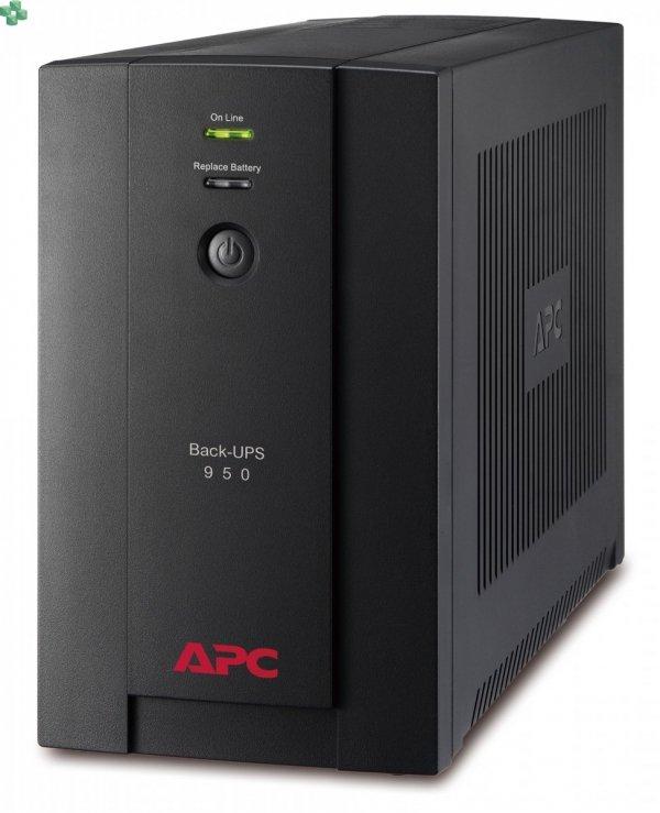 BX950UI APC Back-UPS 950VA/480W, AVR, gniazda IEC C13