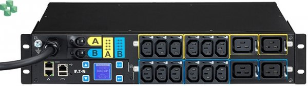 EMAH06 Listwa PDU Eaton ePDU MA 2U (309 32A 1P) 12XC13: 4xC19 - zarządzalna