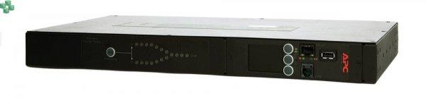 AP4423 Przełącznik źródła zasilania RACK ATS, 230V, 16A, C20 IN, (8) C13 (1) C19 OUT