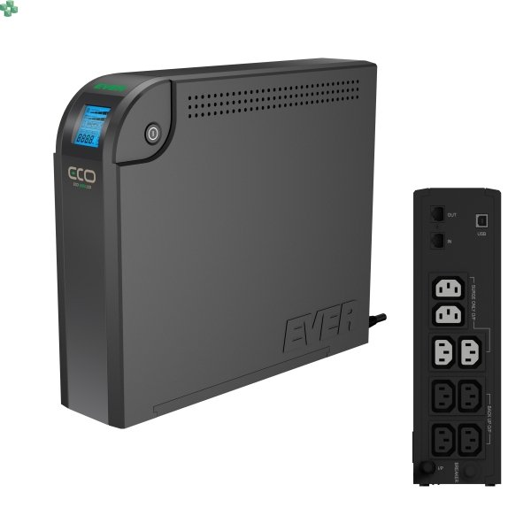 UPS EVER ECO 800VA/500W LCD