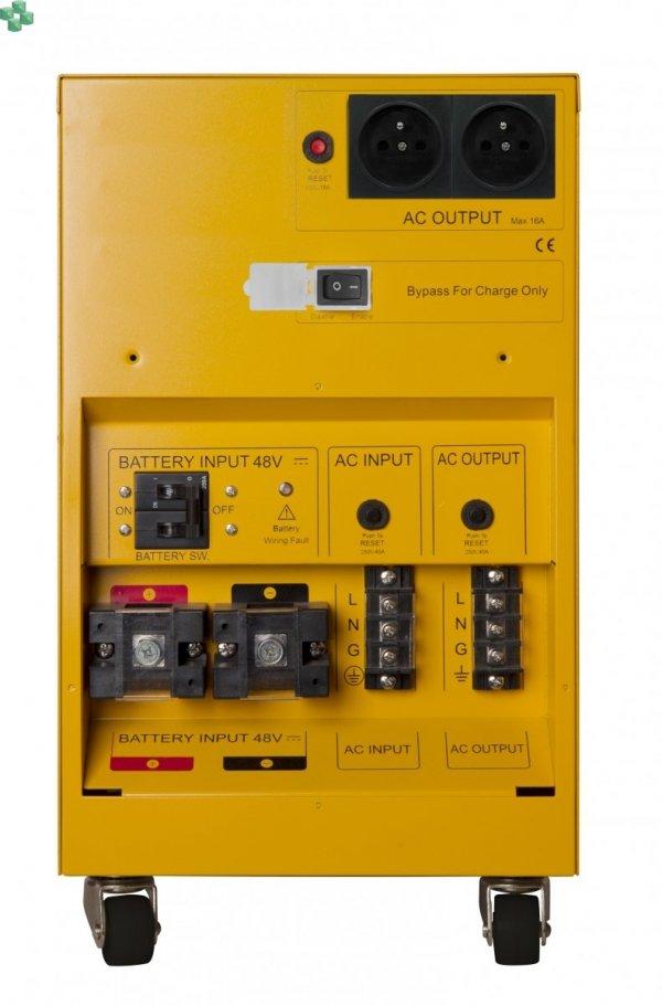 CPS5000PIE Zasilacz UPS CyberPower 5000VA/3500W, długie czasy podtrzymania, sinus na wyjściu Baterie zewnętrzne do kupienia osobno.