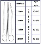 Nożyczki Nelson-Metzenbaum - Różne Rodzaje