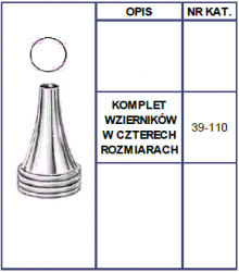 Wzierniki Uszne Toynbee - Kompet 4szt.