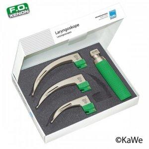 Zestaw Laryngoskopowy dla Dorosłych KaWe Economy Macintosh F.O. (zielony)