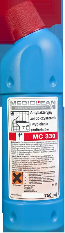 Antybakteryjny Żel do Czyszczenia i Wybielania Sanitariatów MC-330 - Różne Pojemności 750ml, 5l