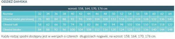 Fartuch Damski 0203 - Różne Rodzaje