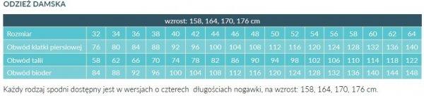 Fartuch Damski 0206 - Różne Rodzaje