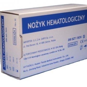 Nożyki Hematologiczne op. 200szt. - Nakłuwacze Jednorazowe