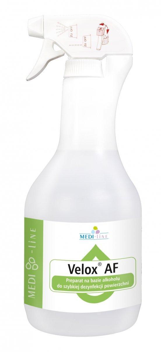 Velox Top AF Płyn do Dezynfekcji Powierzchni - Różne Pojemności i Zapachy 1l, 5l