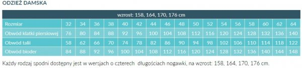 Fartuch Damski 0030 - Różne Rodzaje