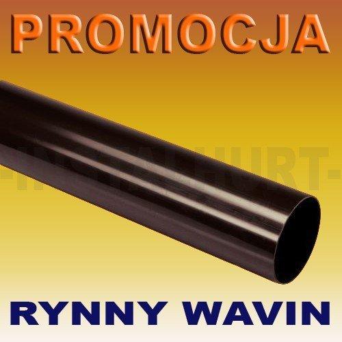 RURA SPUSTOWA RYNNY WAVIN KANION FI 75/2M