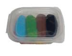 LUKIER PLASTYCZNY MASA CUKROWA MIX 8 kolorów 200 g