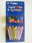 Świeczki urodzinowe SERCA 5.5 cm 10 szt blister