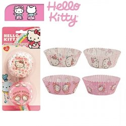 Dekora - papilotki, foremki do mufinek Hello Kitty 50 szt.