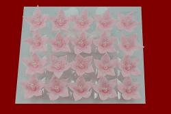 Lilijka różowa - dekoracja cukrowa