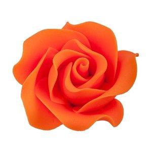 Róża Max 6 szt. pomorańczowa