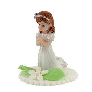 Hokus - Dziewczynka na klęczniku dekoracja komunijna