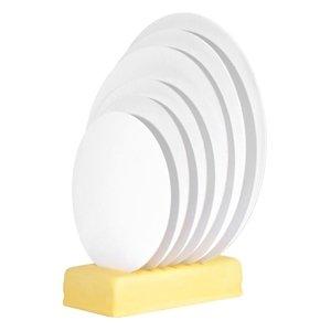 Modecor - Podkład okrągły pod tort fi 40 cm biały