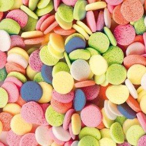 Posypka dekoracyjna confetti kółeczka kolorowe 15g