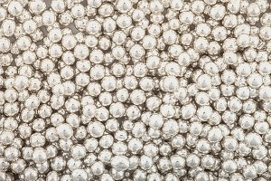 Posypka cukrowa - Włoskie Perełki Srebrne 8,5 mm - 50g