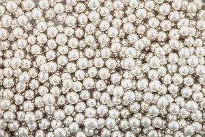 Posypka cukrowa - Włoskie Perełki Srebrne 6,5 mm - 50g