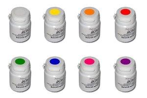 Barwniki spożywcze w proszku zestaw 8 kolorów 64g