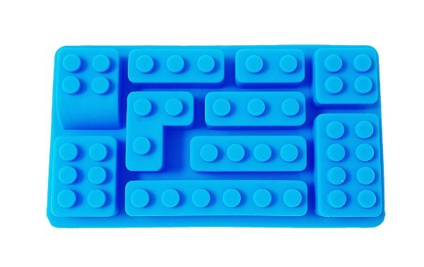 Silikonowa forma KLOCKI LEGO do czekolady kostek lodu żelków