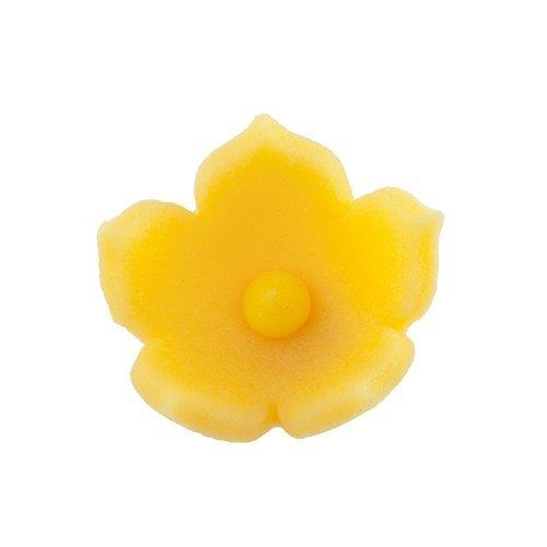 HOKUS - Kwiatek firmowy żółty - Kwiaty cukrowe 8 x 10 szt.