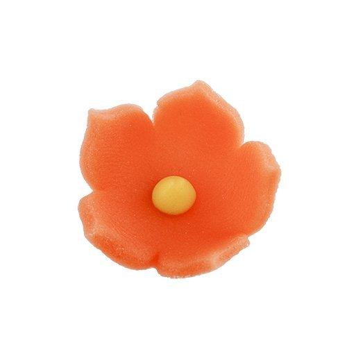 HOKUS - Kwiatek firmowy pomarańczowy - Kwiaty cukrowe 8 x 10 szt.