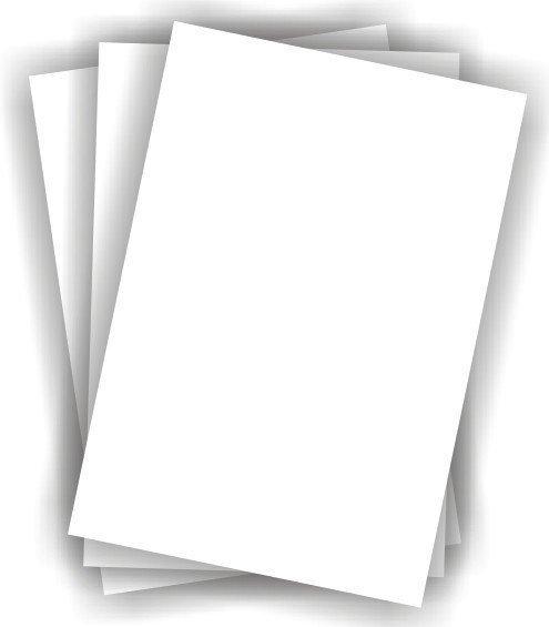 Modecor Papier opłatkowy gruby 100 szt.