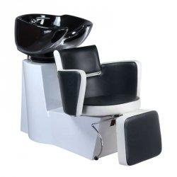 Myjnia Fryzjerska Luigi BR-3542 Czarno-biała BS