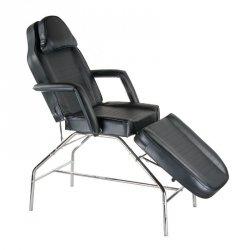 Fotel kosmetyczny BR-3351 Czarny BS