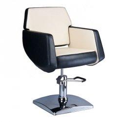 Fotel Fryzjerski Nico Czarno-kremowy BD-1088 BS