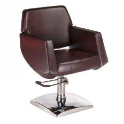 Fotel Fryzjerski Nico Brązowy BD-1088 BS