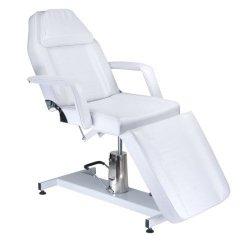 Fotel kosmetyczny hydrauliczny BW-210 Biały BS