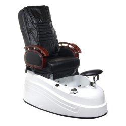 Fotel do pedicure z masażerem BR-2307 Czarny BS