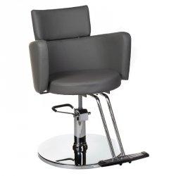Fotel Fryzjerski Luigi BR-3927 Szary BS