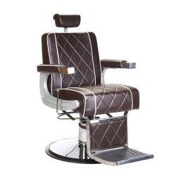 Fotel Barberski Odys BH-31825M Brązowy BS